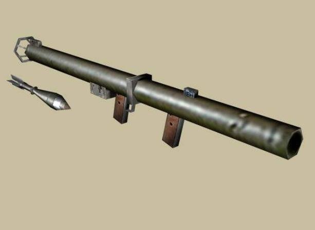 二战美国反坦克炮_巴祖卡火箭筒:美制反坦克利器,二战曾击毁德国虎式坦克