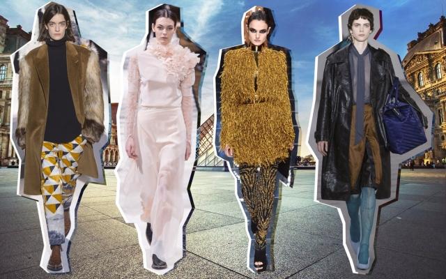 嬉皮风格服装囹�a_2017秋冬巴黎时装周十大顶级潮流趋势
