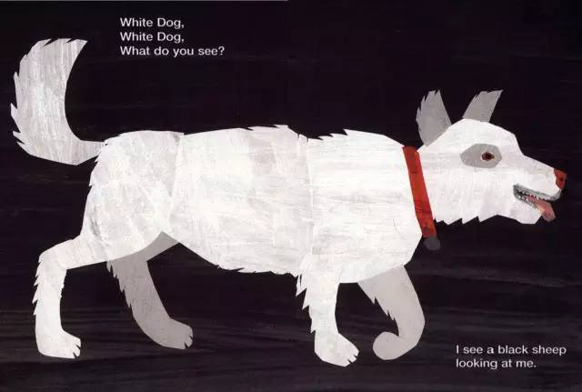 91seese_i see a white dog looking at me. 我看到一只白色的狗在看着我.