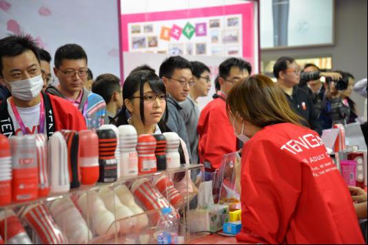 日本当红女优助阵,情趣品牌TENGA亮相2017上海成人展