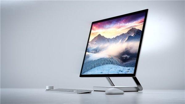 苹果拟年底发布高端iMac 挑战微软Surface Studio的照片