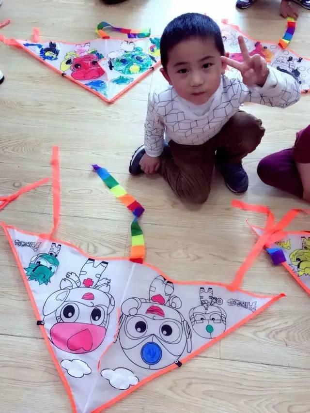 【佳音 · 成果展】風箏diy@羅斯福分校k-2a節慶課圖片