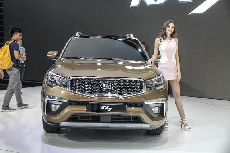 东风起亚suv报价_2017上海车展:东风悦达起亚全新中型SUV KX7_搜狐汽车_搜狐网