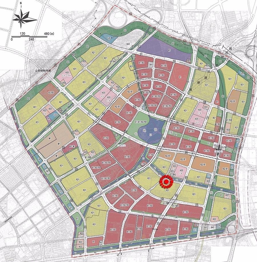 【一周規劃】余杭臨平新城,喬司商貿城3宗商地選址圖片
