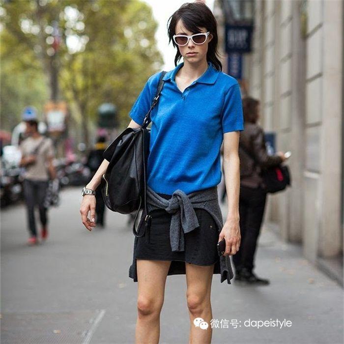 女生polo怎么搭配 原来女人穿polo衫这么好看!