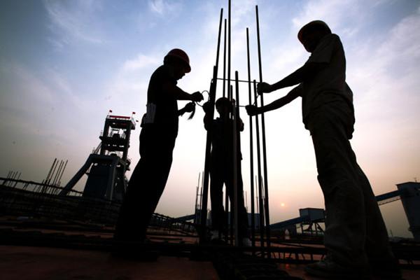 城市的建设者——建筑工人