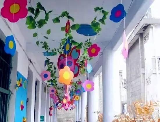 幼儿园环创吊饰_幼儿园春季开学手工吊饰环创,幼师必备!