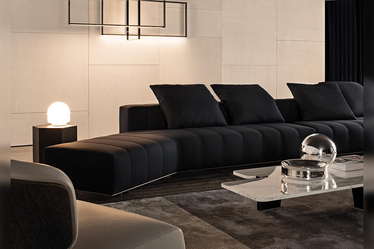 現代輕奢風格情懷,意大利極簡輕奢家具圖片欣賞!圖片