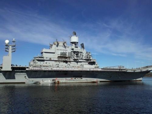 印度维克拉玛蒂亚号_俄新航母载机90架号称世界最大,难道不花钱?
