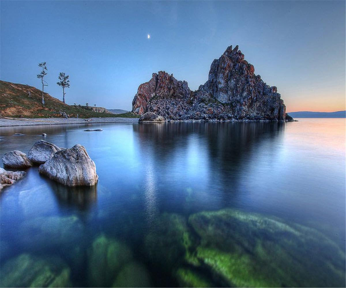 日落共青城_夏天到了,贝加尔湖又美出了新高度~~~