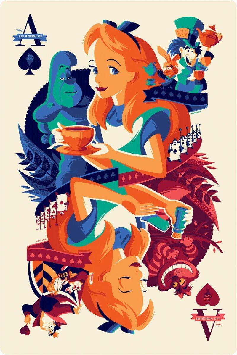 最新艺术片_迪士尼电影艺术海报,总有一款是你心头肉