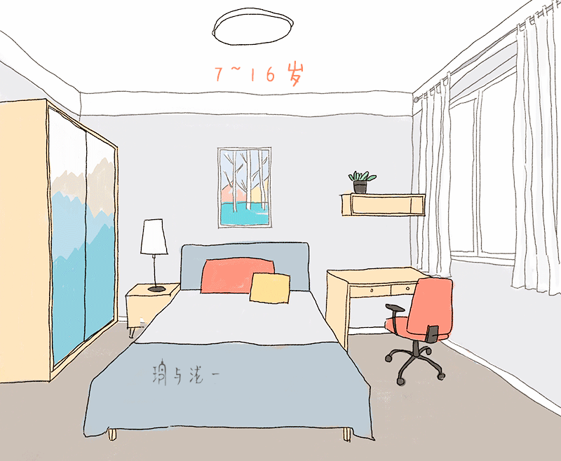 儿童画整理房间和衣物_熊孩子怎么治?给他一个这样的儿童房吧!_搜狐母婴_搜狐网
