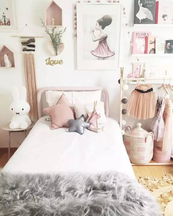 Grey Kids Room: 如何打造冰淇淋色系法式女儿房? Ins超人气爆款给你100分灵感