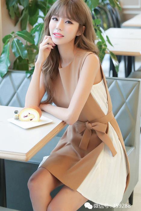 幼交同���/y�a��-yol_韩版背心裙夏季新款ol气质收腰显瘦裙子百褶雪纺裙女无袖连衣裙