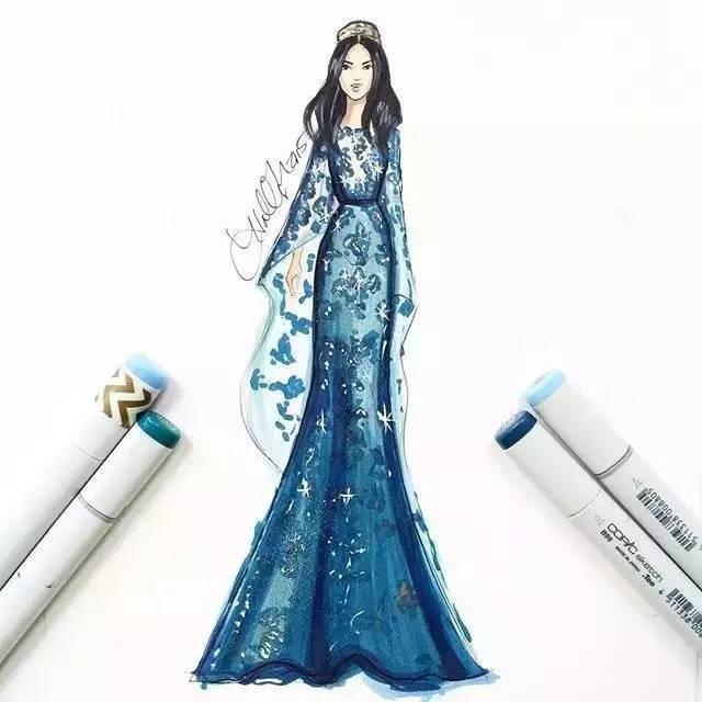 Fashion illustration by fashion designers cover