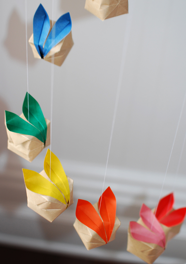How To Make An Origami Mobile