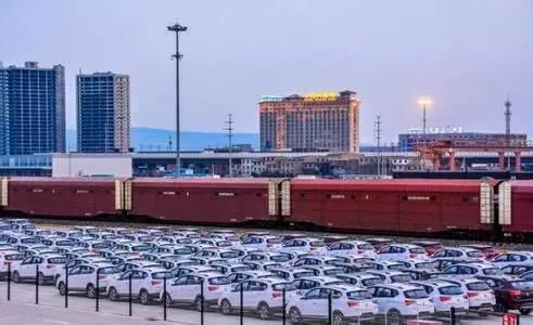 """中国汽车企业加快""""一带一路""""沿线布局,探索欧美之路"""