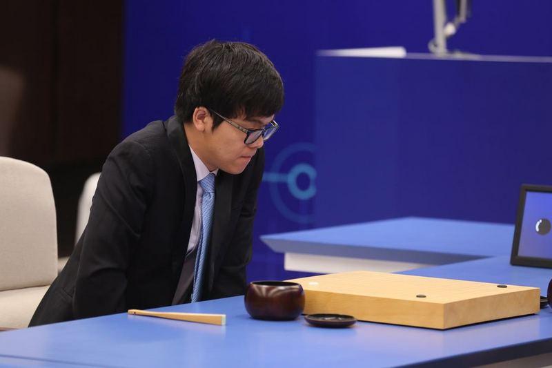 柯洁完败 输1/4子是AlphaGo事先设定好的?的照片 - 1