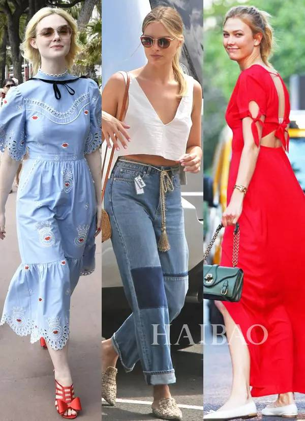 街拍~都是明星||Gigi穿透视衫竟没有腰?胖回来的Gaga却穿成了大黄蜂~海报网 ...