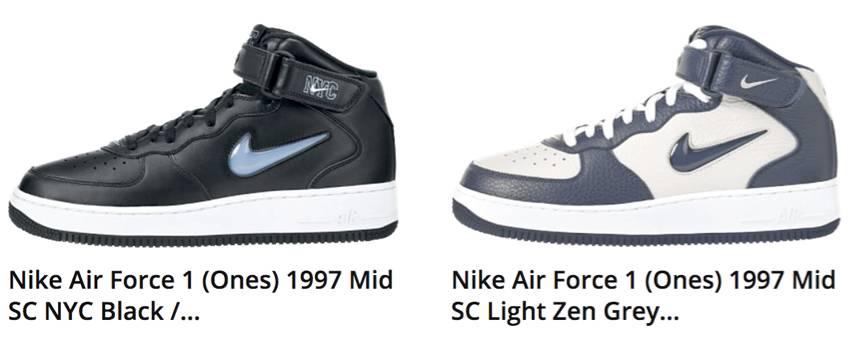 cheap for discount 8a838 70e65 ... 由于JEWEL系列的Air Force 1 很少在国内推广过,所以国内 Nike ...