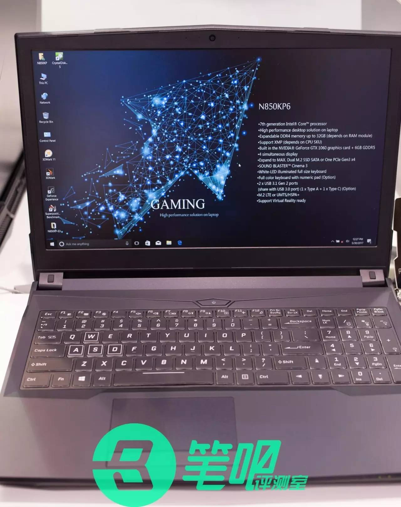 New N850KP6 chassis   NotebookReview