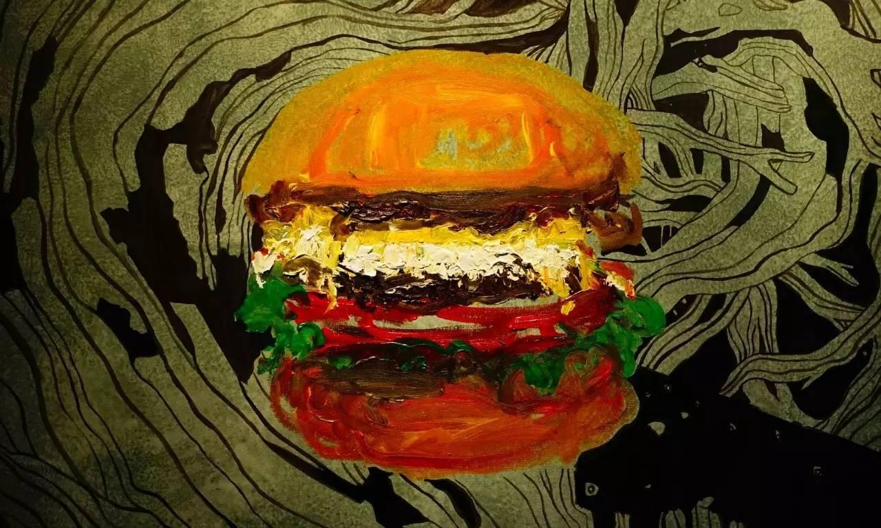 紫红火��lo9f�x�_creamsoda x fa2lo x s.kesen 联名了一个大汉堡