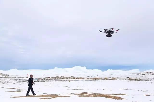 在南極用無人機做傾斜攝影是怎樣一種體驗?