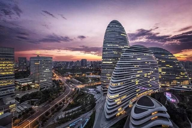 望京地标性建筑_北京的现代建筑,哪一座是你心中的第一名?