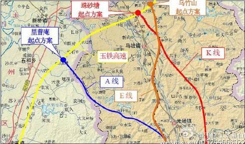 广西玉铁高速公路图_玉湛高速公路(广西段)项目最新消息,施工图设计已通过审查!