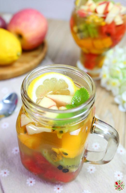 孕妇能不能喝淡绿茶_夏日解暑网红茶,自制水果蜂蜜茶连孕妇都能喝