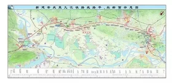 """安九高铁路线_未来,芜湖人可乘""""安九高铁""""直达这些地方!"""