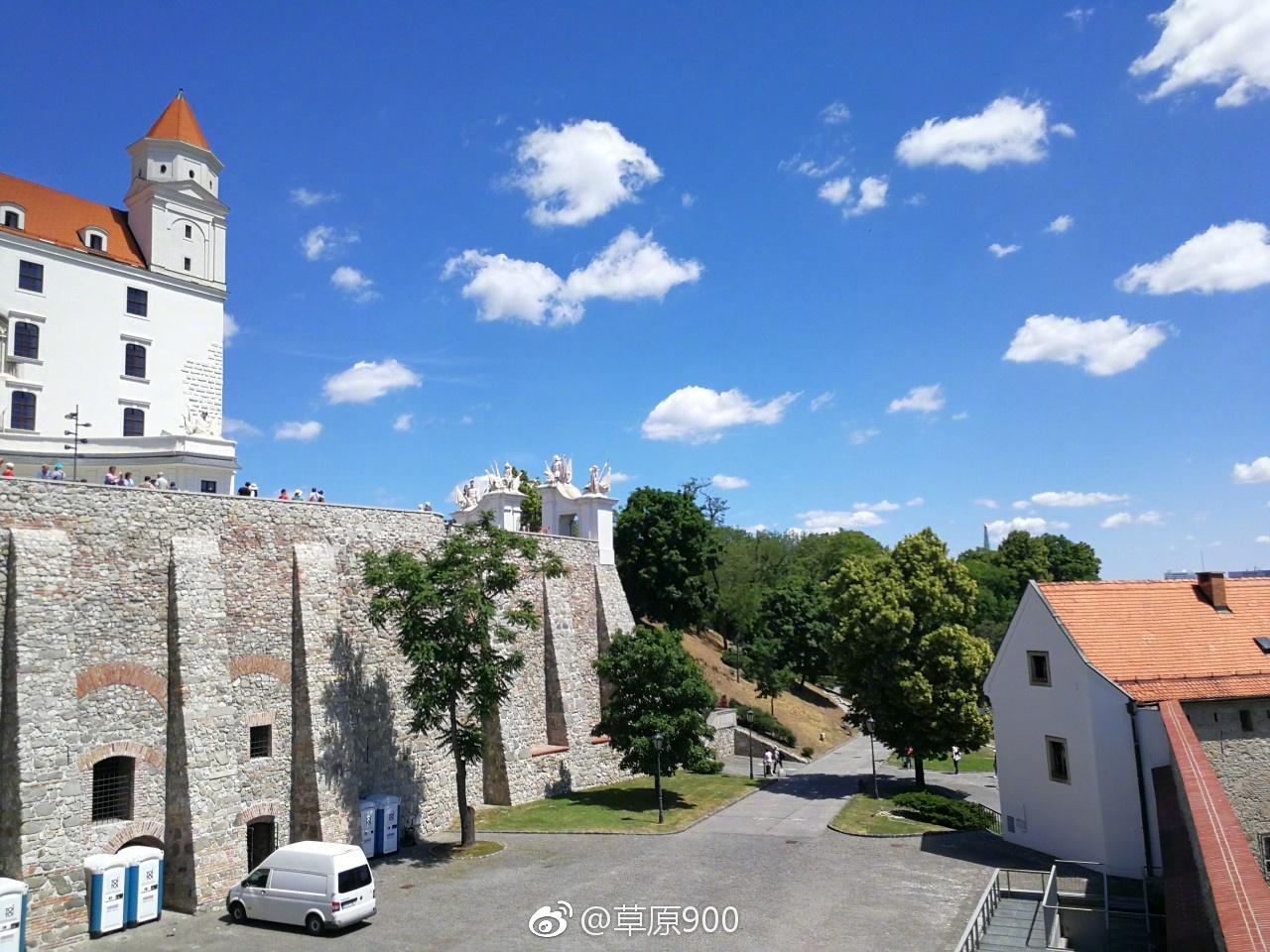 斯洛伐克港口_欧洲明珠,斯洛伐克首府的明媚天空