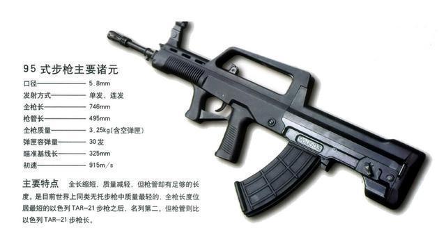 Image result for 中国武警95式自动步枪