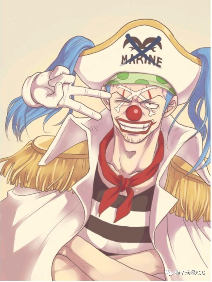 最大基巴图_海贼王脑洞,最后打败路飞的人,不是克比就是小丑巴基!