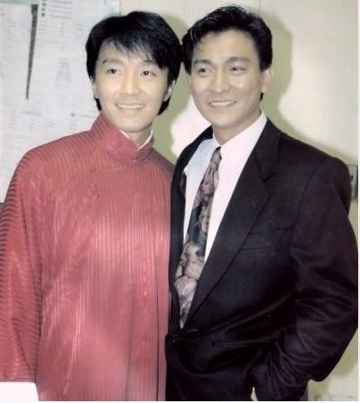 张国荣和刘德华_100张香港明星珍藏版合影旧照,怀念当年那些港星