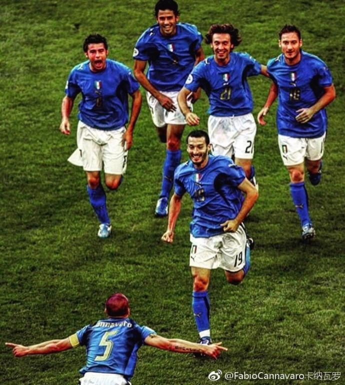 06世界杯决赛_峥嵘岁月!卡纳瓦罗纪念06世界杯1/4决赛