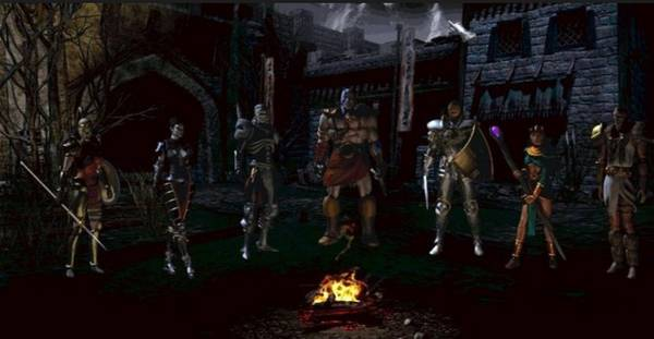 暗黑2的角色界面圖片