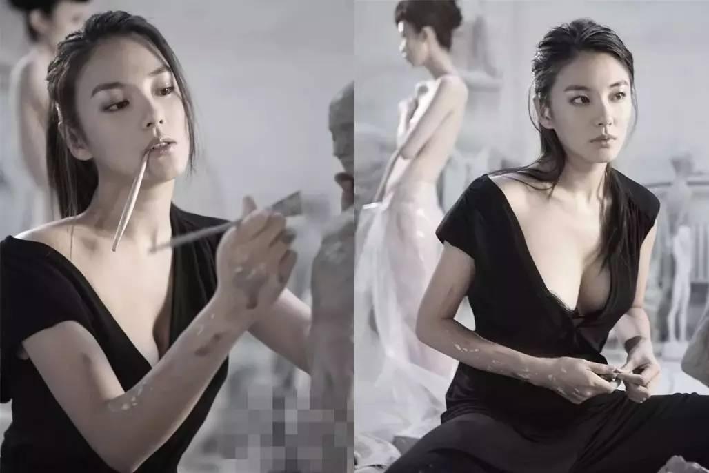 蔡明人体艺术_来感受下,去年以55岁年龄登上《男人装》的蔡明.