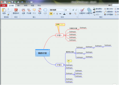 思維導圖軟件xmind和mindmanager哪個更好圖片