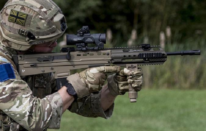 WWW_288SA0_COM_l85a3是l85a2突击步枪进一步升级的版本,在sa80枪族中这些步枪外形都
