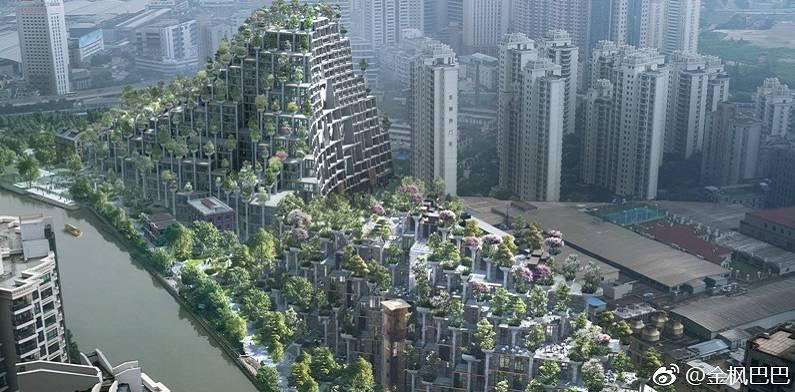 上海 空中花園 效果圖