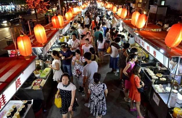 石家庄万达广场美食_盘点石家庄10条特色美食街,吃遍才是真吃货!