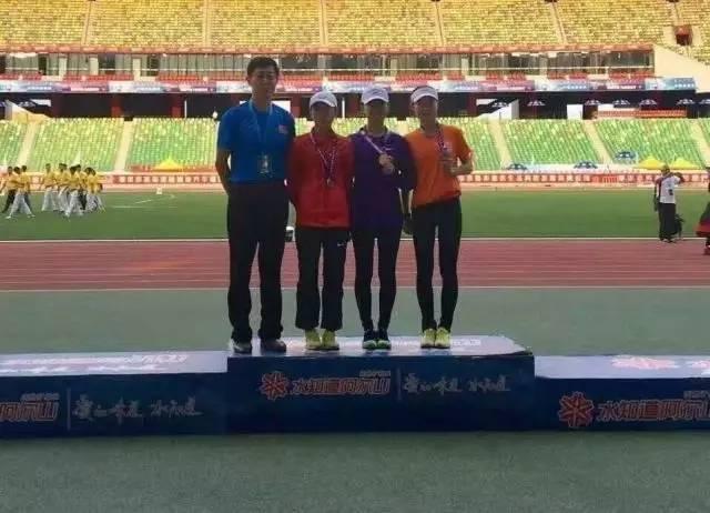 女子竞走冠军_赛讯   我校在第17届全国大学生田径锦标赛上获佳绩并打破多项纪录