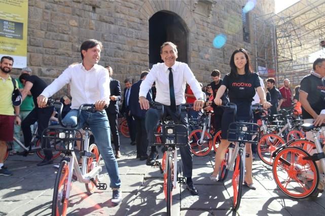 """德媒称摩拜单车是""""白痴经济""""前景堪忧的照片"""