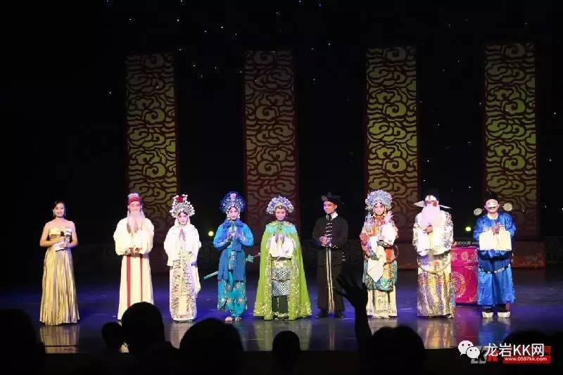 鼓樂齊鳴奏響文藝之音閩西中青年演員演藝漢劇韻味無窮