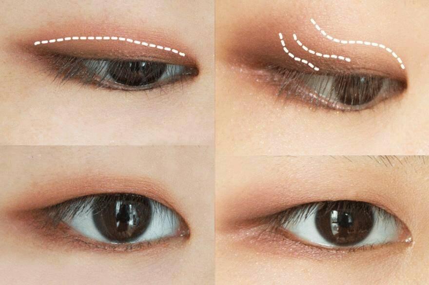 内双肿眼皮眼妆_内双又肿眼泡?如何画眼妆,能正确放大双眼不脏妆?| 美妆新手班