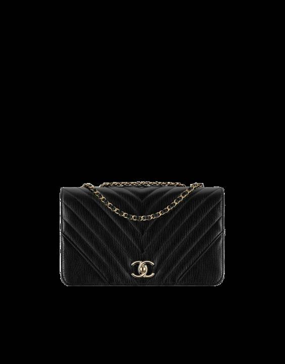 54c2fa9570d9 Chanel Chevron Statement Medium Flap Bag