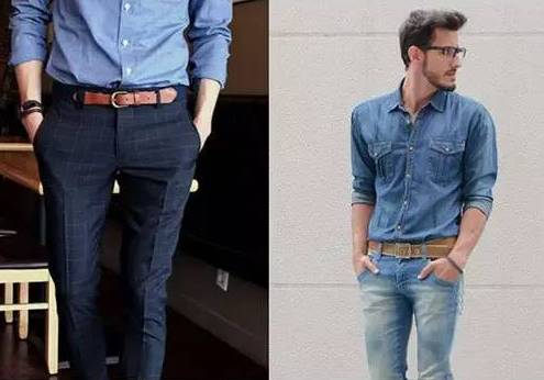 正装皮鞋款式_最齐全的男士皮带搭配法则,是男人都要戳进来看~