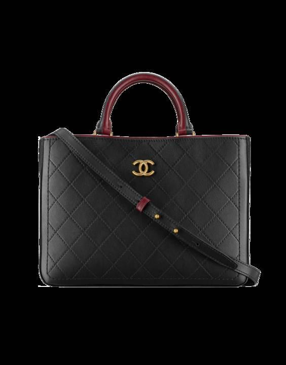 df747a09ae9c Chanel Bi-color Bullskin Large Shopping Bag