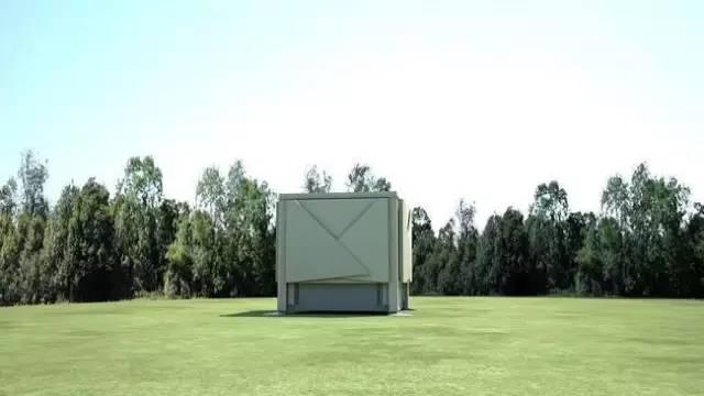 集装箱大变身,可移动折叠,这应该就是我们以后的房屋!